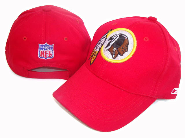 Washington Redskins Red Peaked Cap DF 0512